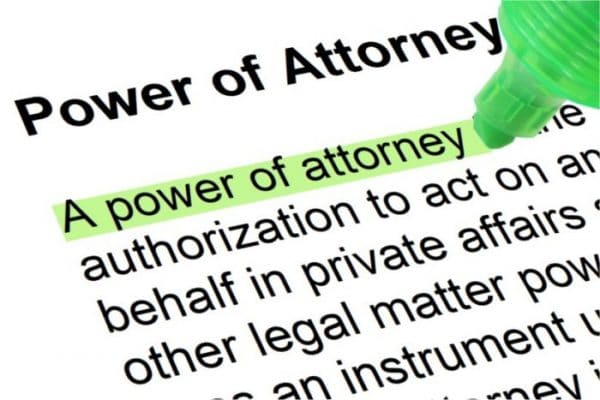 Food For Thought – Power of Attorney