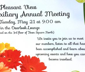 Annual Auxiliary Meeting