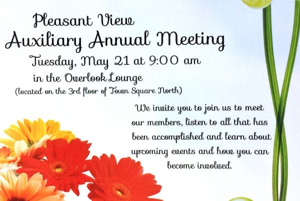 Auxiliary Annual Meeting