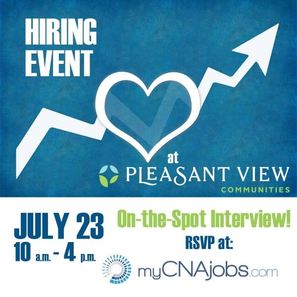 Summertime Hiring Event – 2019