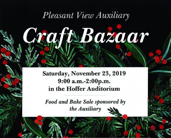Auxiliary Craft Bazaar